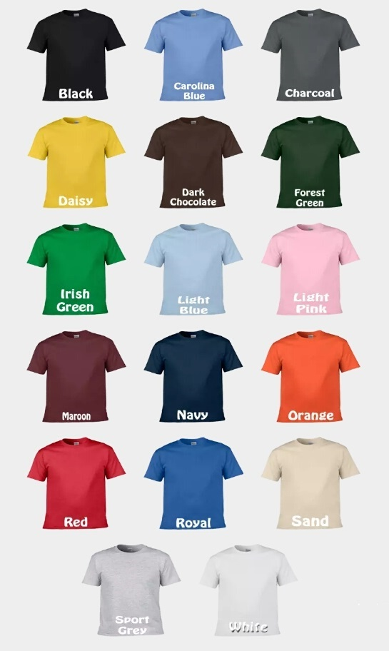 Tshirt color
