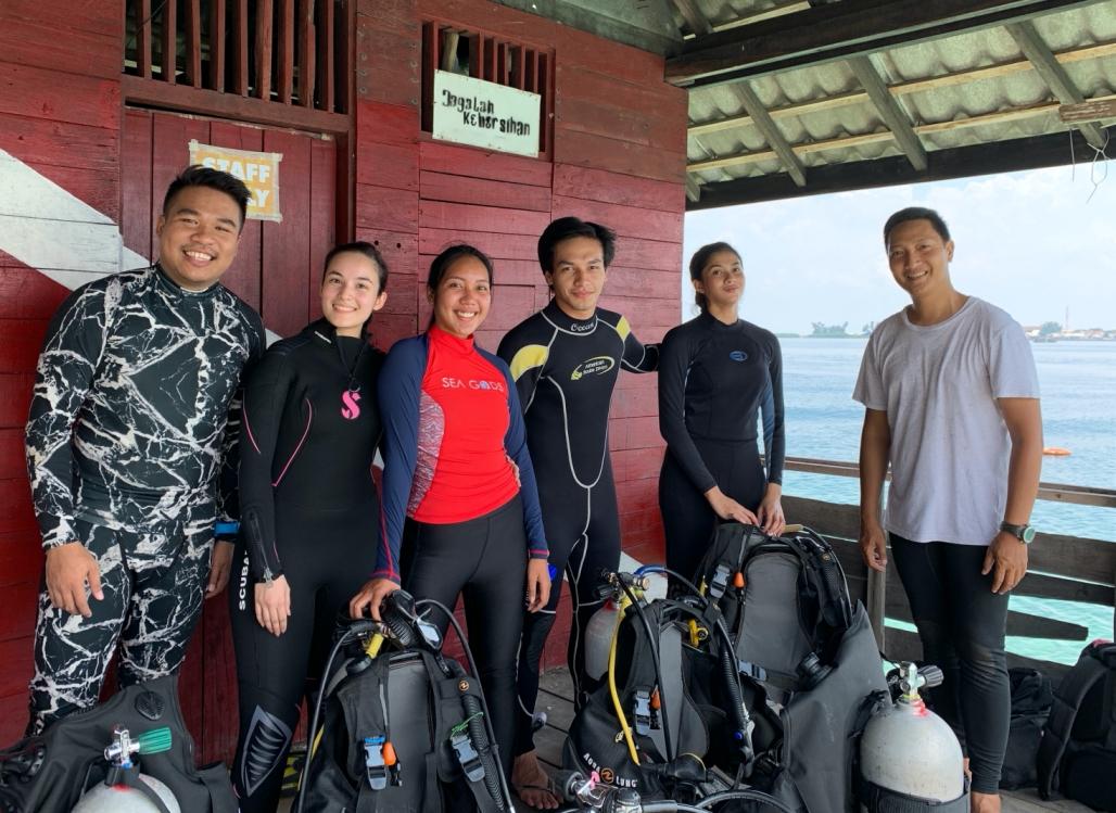 Belajar Diving Jakarta